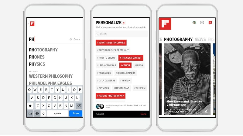 Flipboard Redesign Intends To Help People Find