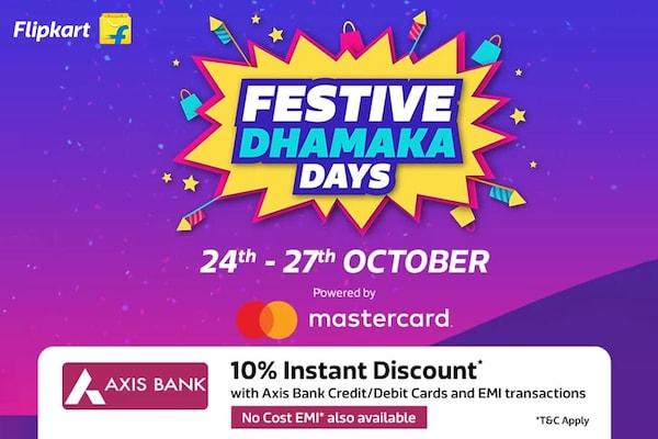 Flipkart Festive Dhamaka Days Sale 2018: Check Sale, Offers & Deals