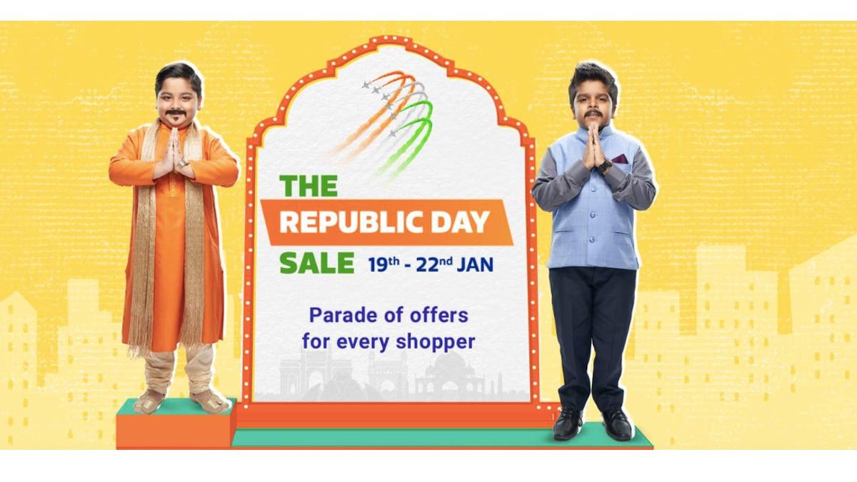 Flipkart Sale: Best Republic Day 2020 Sale Offers on Mobile Phones, Smart TVs, iPad, and More