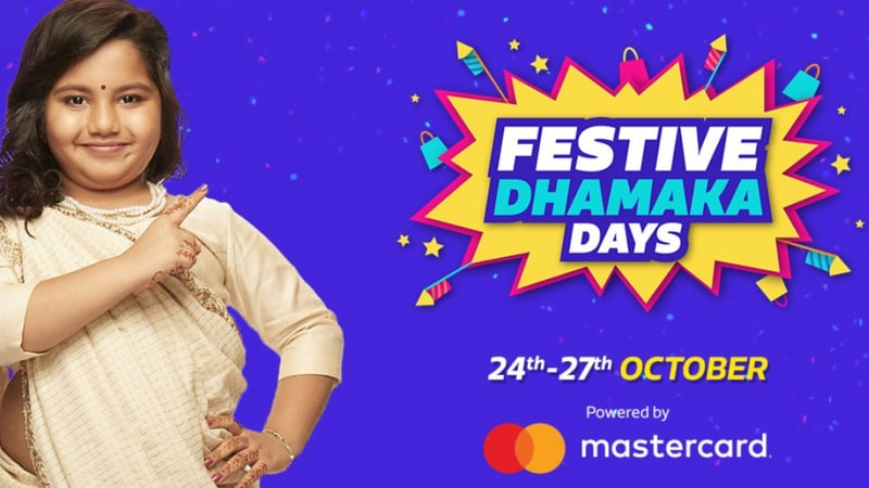 Flipkart Festive Dhamaka Days Sale Offers Deals on ZenFone Max Pro M1, Oppo F9, Nokia 6.1 Plus, and More
