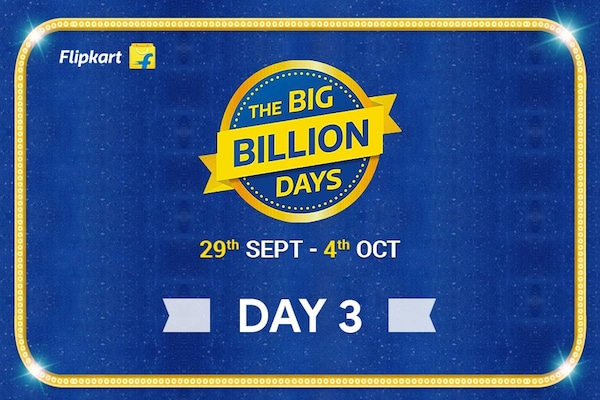 Flipkart Big Billion Days from 29th Sept- 4th Oct, Day 3 Highlights of The Biggest Online Shopping Festival!