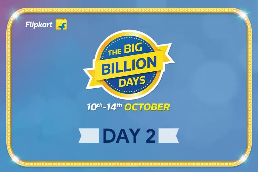 Flipkart Big Billion Days from 10th-14th October, Day 2 Highlights of The Biggest Online Shopping Festival!