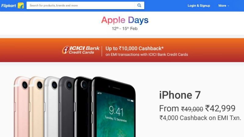 Flipkart Sale Offers Discounts on iPhone X, iPhone 8, and More Till February 15