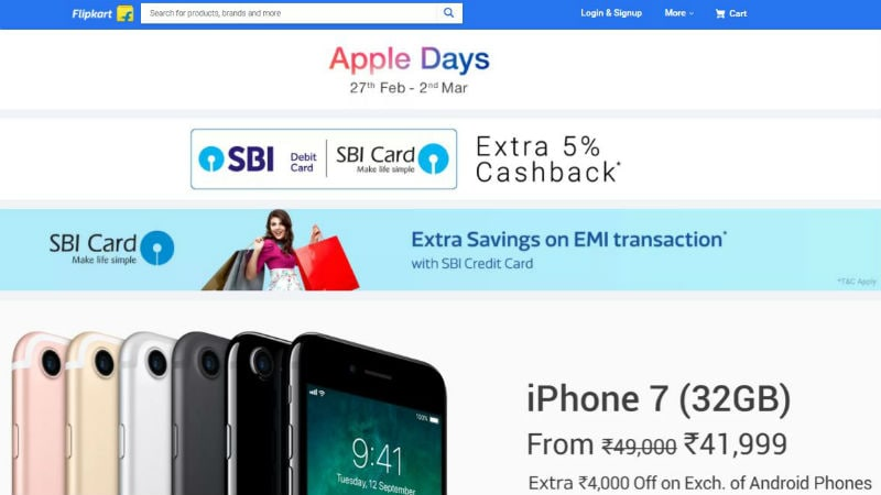 Flipkart Apple Days Sale Enters Day 2: Deals on iPhone X, iPhone 8, iPads, MacBooks, and More