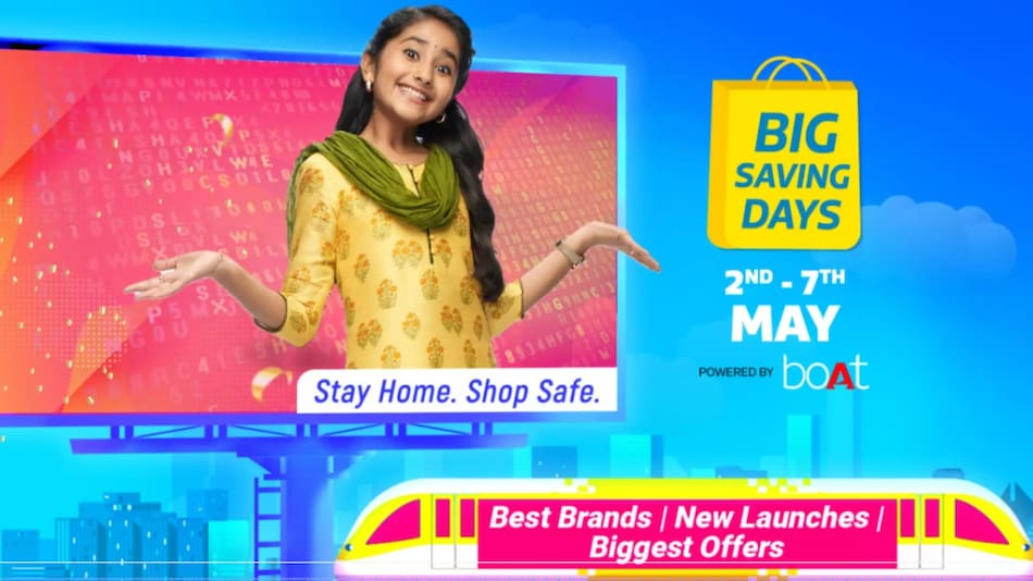 Flipkart Big Saving Days Sale to Bring Deals and Discounts on Smartphones, Electronics Starting May 2