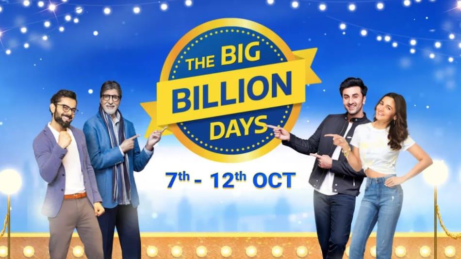 7 अक्टूबर से शुरू होगी Flipkart Big Billion Days Sale: लॉन्च होंगे 6 नए स्मार्टफोन, मिलेंगी बंपर डील्स