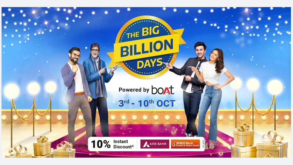 Flipkart Big Billion Days 2021 Sale Dates Revised to Rival Amazon, Will Go Live From October 3 to October 10