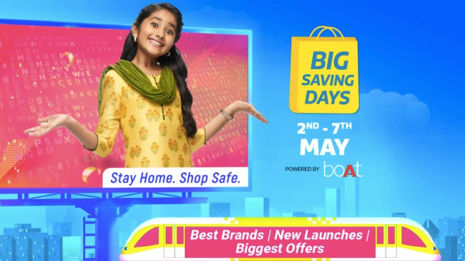 Flipkart Big Saving Days Sale from May 2: Discounts and Offers on Phones, Smart TVs, Other Electronics