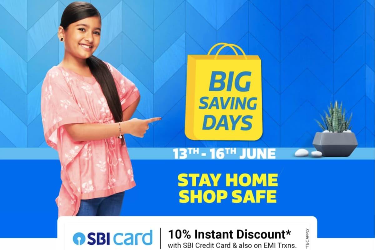 Flipkart Big Saving Days Sale Beginning on June 13, Major Deals on Phones Revealed - Gadgets 360 thumbnail