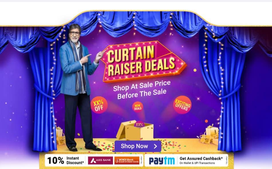 Flipkart Curtain Raiser Deals Sale Goes Live Ahead of Big Billion Days: Price Cut on iPhone SE (2020), More