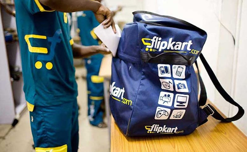 flipkart delivery man
