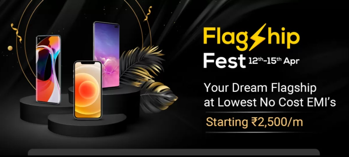 Flipkart Flagship Fest Sale Begins With Deals and Offers on Premium Phones