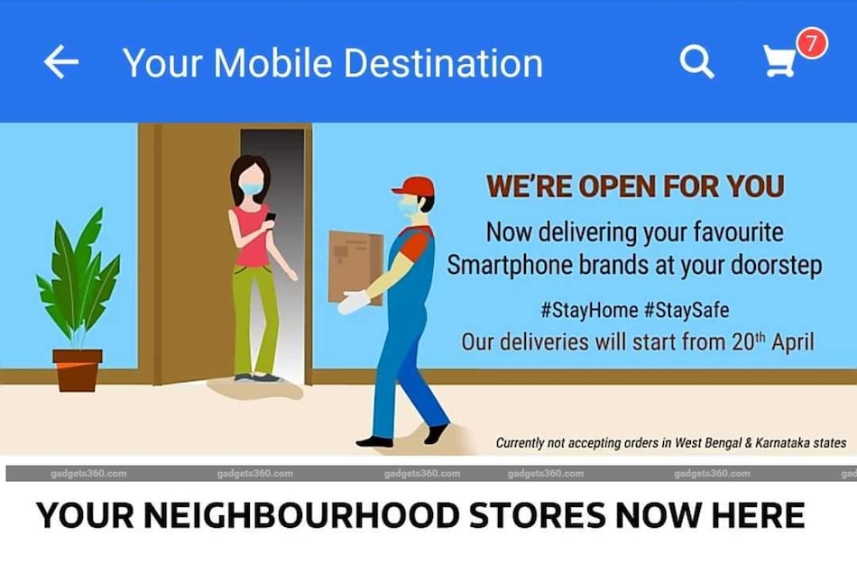 COVID-19 Lockdown: Flipkart Opens Mobiles Category for Orders, Delivery After April 20