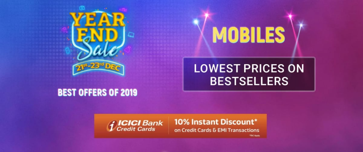 Flipkart Year End Sale: Top Mobile, Laptop, Gadget Offers Including Redmi Note 7 Pro, Realme 5 Pro, MacBook Air, and More