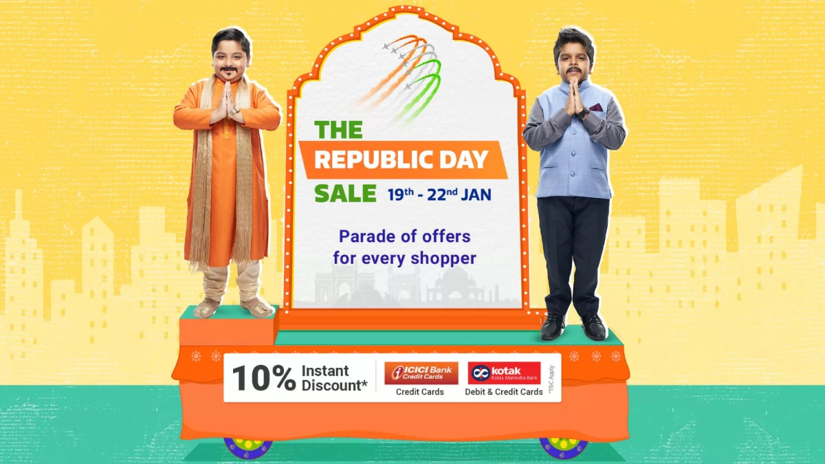 Flipkart Republic Day Sale 2020 to Begin With Discounts on Redmi 8A, Motorola One Action, Realme 3, iPhone 7, and More