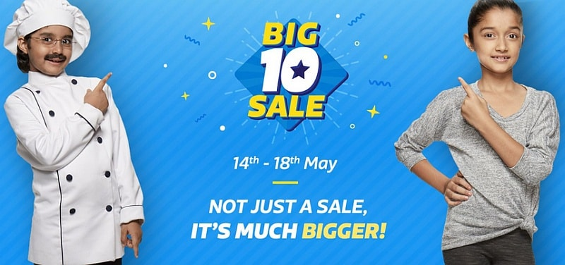 Flipkart Says It Did a Month's Worth of Business in the 5-Day Big 10 Sale