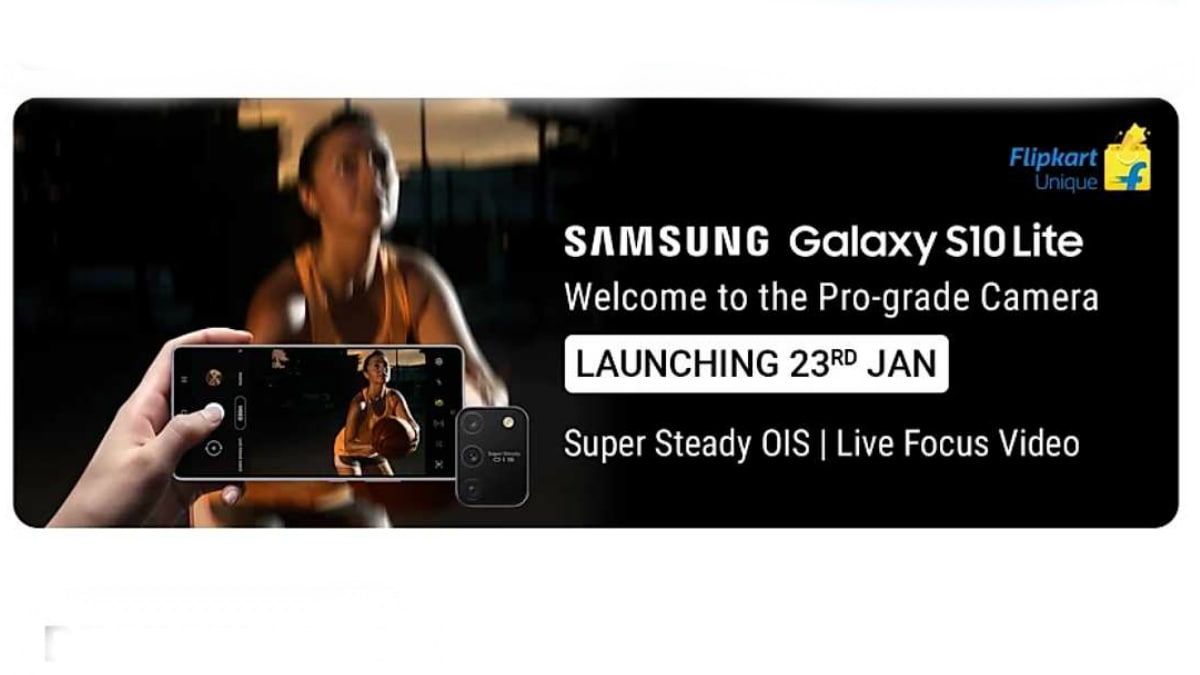 Samsung Galaxy S10 Lite India Launch Set for January 23, Flipkart Teaser Suggests