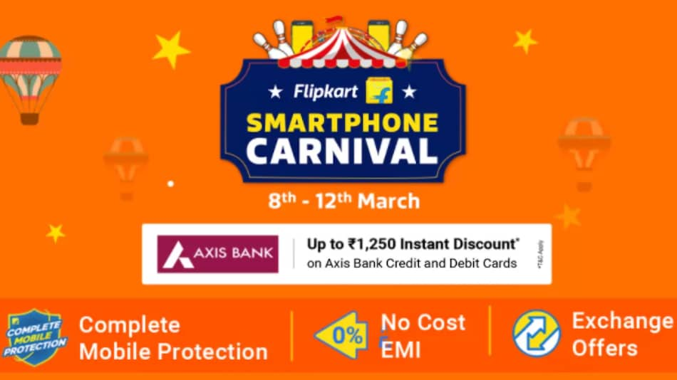 Flipkart Smartphone Carnival Begins: Price Cuts on Samsung Galaxy S20 FE, iPhone SE (2020), Redmi Note 9 Pro Max, More