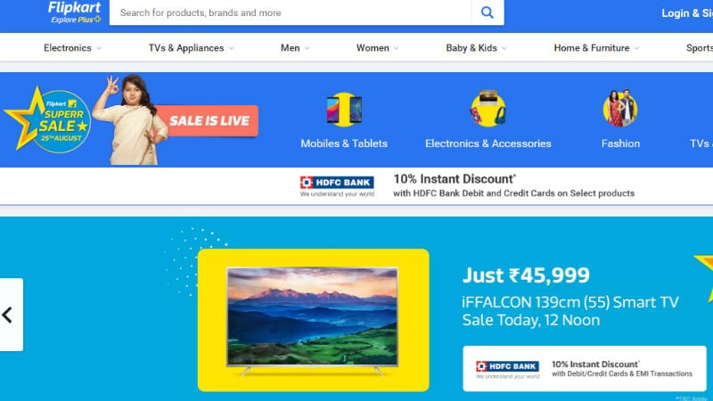 Flipkart Superr Sale शुरू, स्मार्टफोन मिल रहे हैं सस्ते में