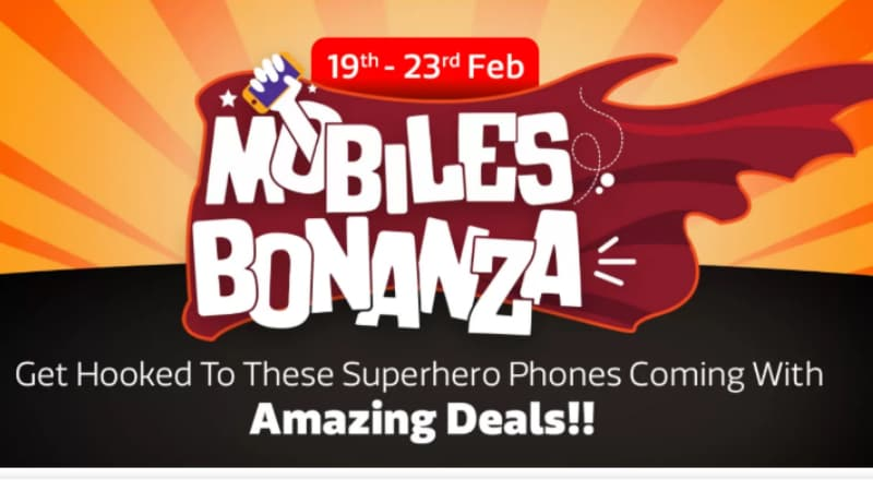Flipkart Mobiles Bonanza Sale will happen during February 19 - 23
