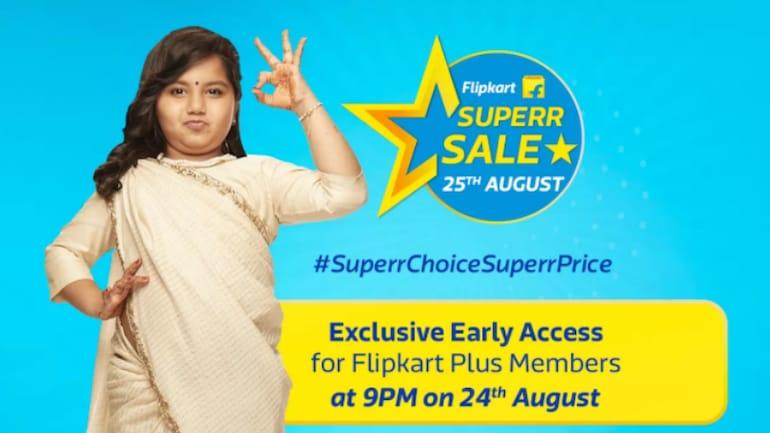 Flipkart Superr Sale 25 अगस्त को, स्मार्टफोन और लैपटॉप मिलेंगे सस्ते में