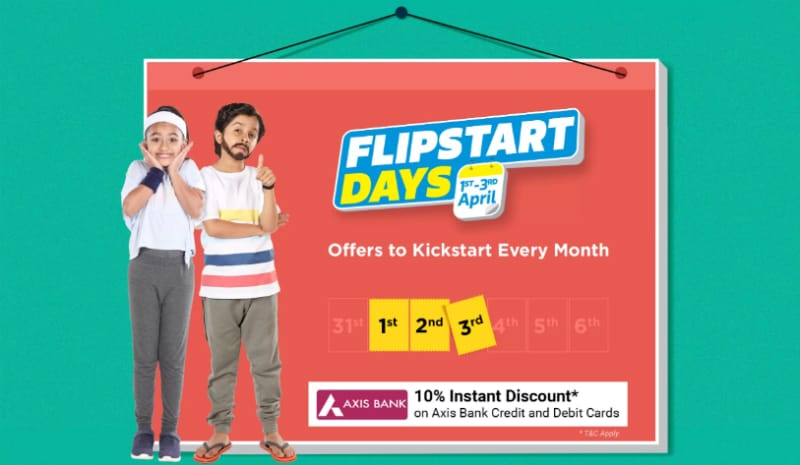 Flipkart Flipstart Days Sale 2019: Offers on Laptops, Wearables, Tablets