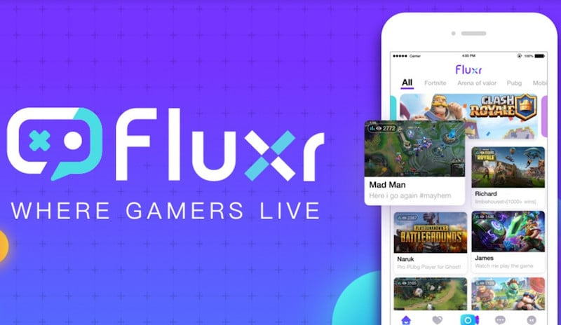 Fluxr Mobile Game Streaming App Launched With Support for