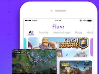 Fluxr Mobile Game Streaming App Launched