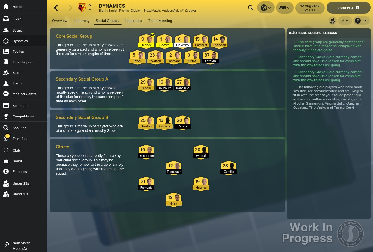 fm 2018 dynamics Football Manager 2018