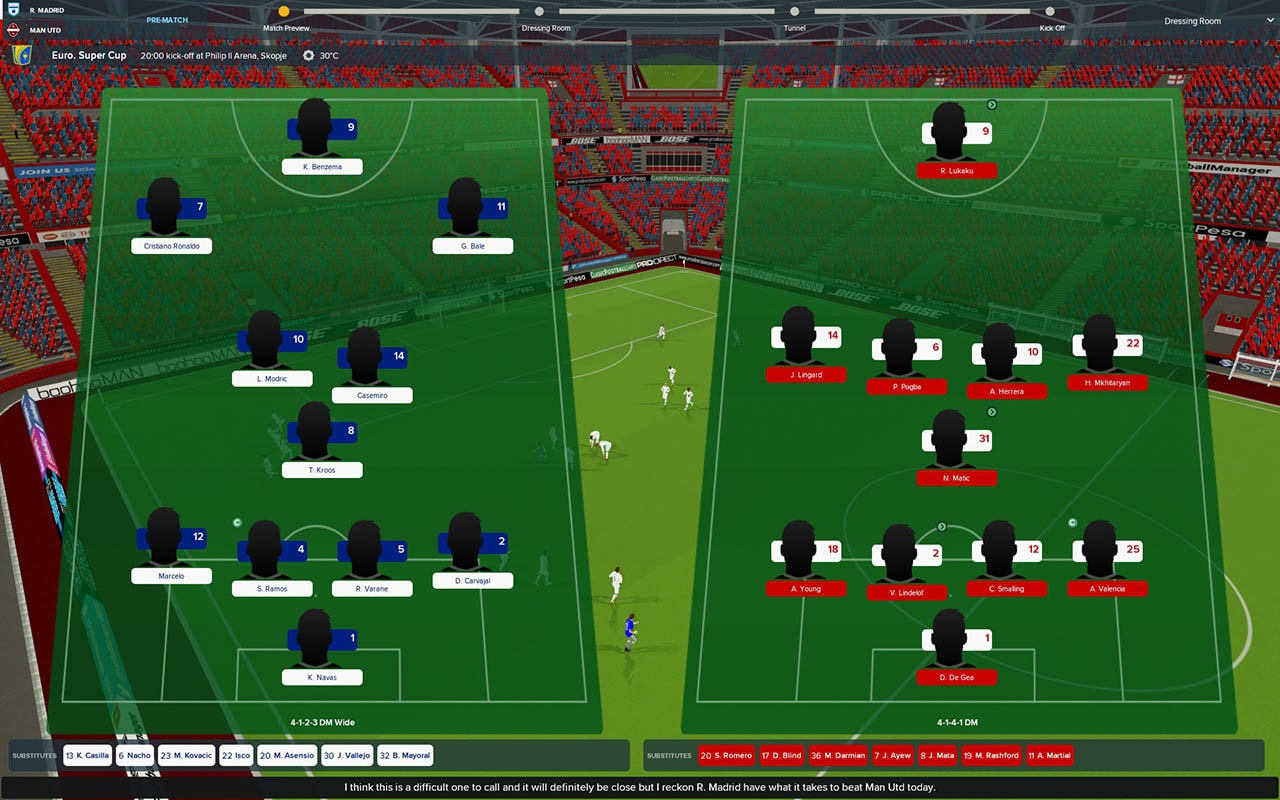 fm 2018 squads Football Manager 2018