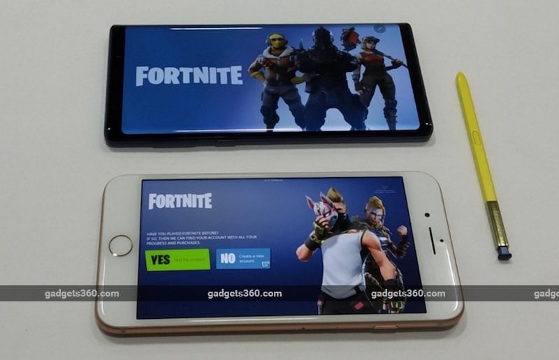 Is Samsung Galaxy Note 9 The Best Phone To Play Fortnite Mobile We