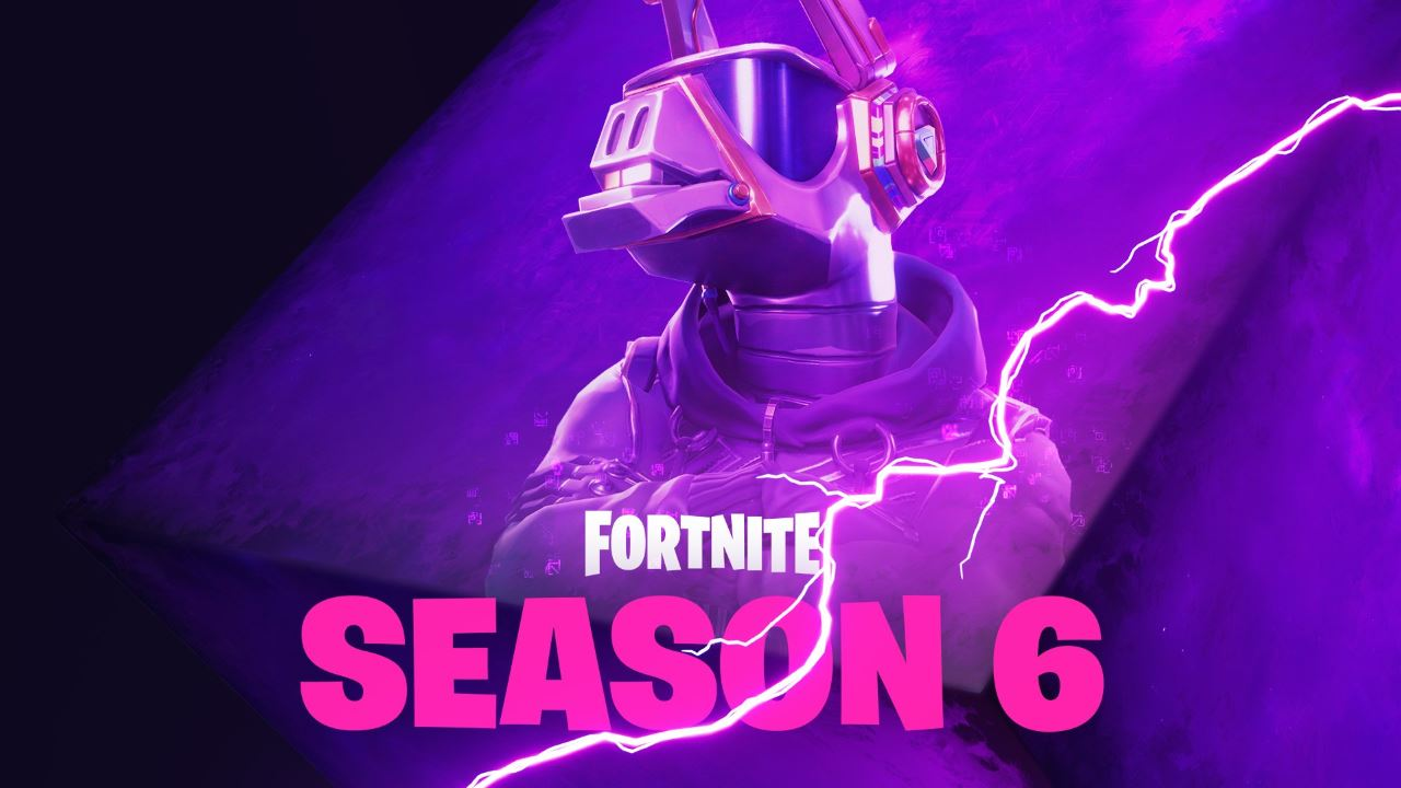 Fortnite Season 6 First Tease Is A Purple Dj Llama Skin