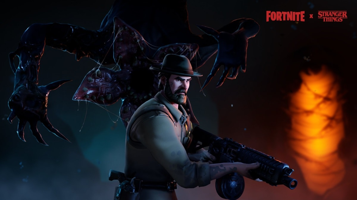 Fortnite X Stranger Things Crossover Event Is Just New Chief - what is the fortnite roblox game called