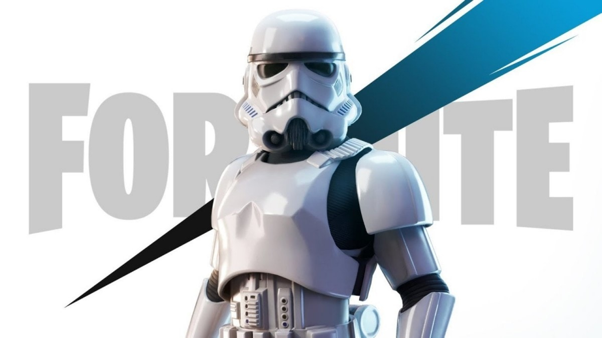 Become a bad  shot with the Fortnite Imperial Stormtrooper skin
