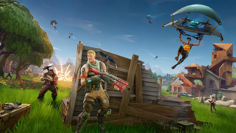 This Is How Fortnite Battle Royale Looks on an iPhone X