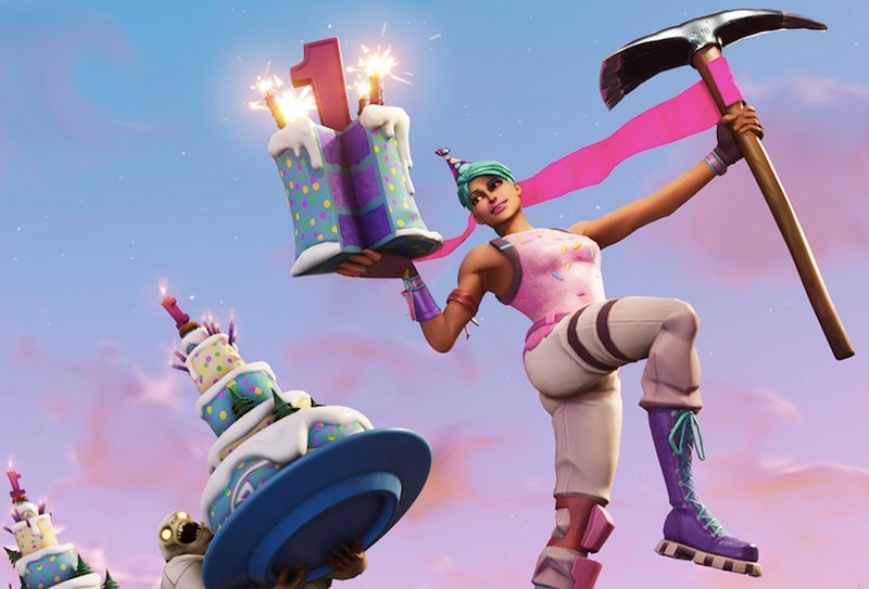 Fortnite 1st Birthday Challenges and Rewards Announced
