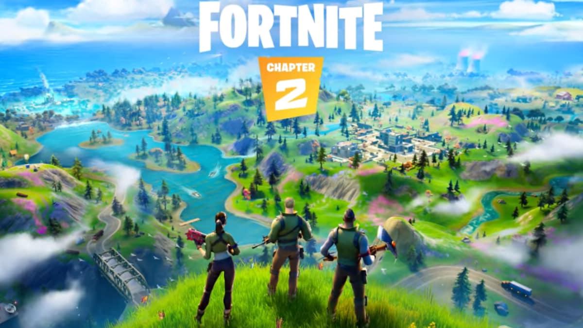 Fortnite Chapter 2 Now Live Brings New Map Season 1 Battle