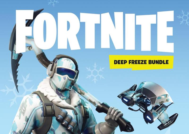 Fortnite Deep Freeze PC Bundle Launched in India