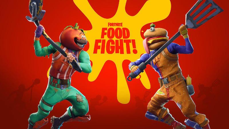 Durr Burger takes on Pizza Pit in Fortnite's Food Fight LTM