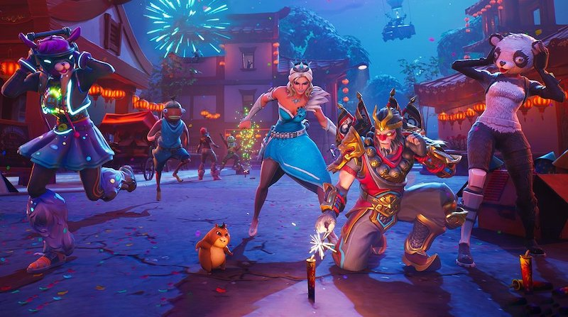 Fortnite Update 7.30 Adds Lunar New Year Heroes and Dragon Weapons