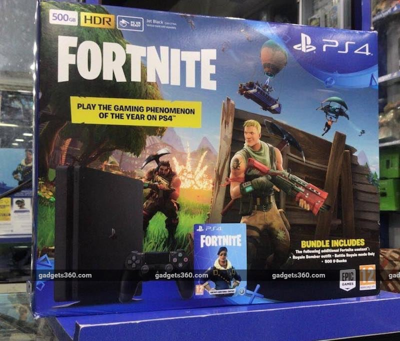 Fortnite Ps4 Slim Bundle Now Available In India Unofficially