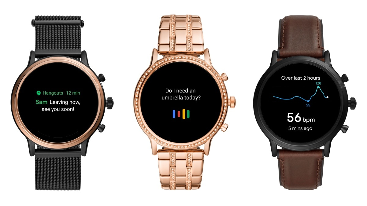 Fossil Gen 5 Wear OS by Google Smartwatches Launched in India, Start From Rs. 22,995