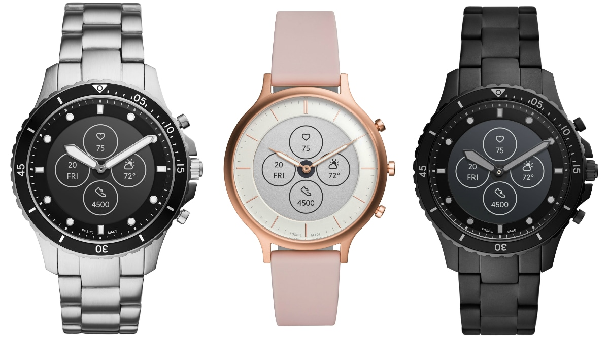 Fossil Hybrid HR Smartwatch With More Than 2 Weeks of Battery Life Launched in India