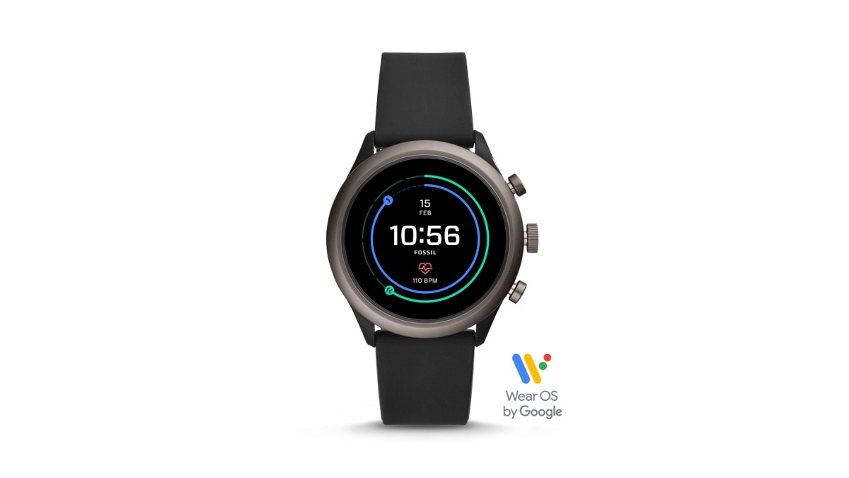 Fossil Sport Wear OS Smartwatch With Qualcomm Snapdragon Wear 3100 SoC Launched in India