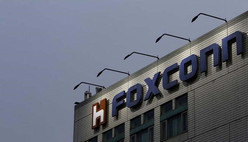 Foxconn Said to Begin Construction of US Plant in Second Half of 2017