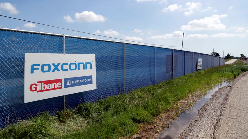 Foxconn Says It Will Build Wisconsin Factory, Cites 'Conversation' With Trump