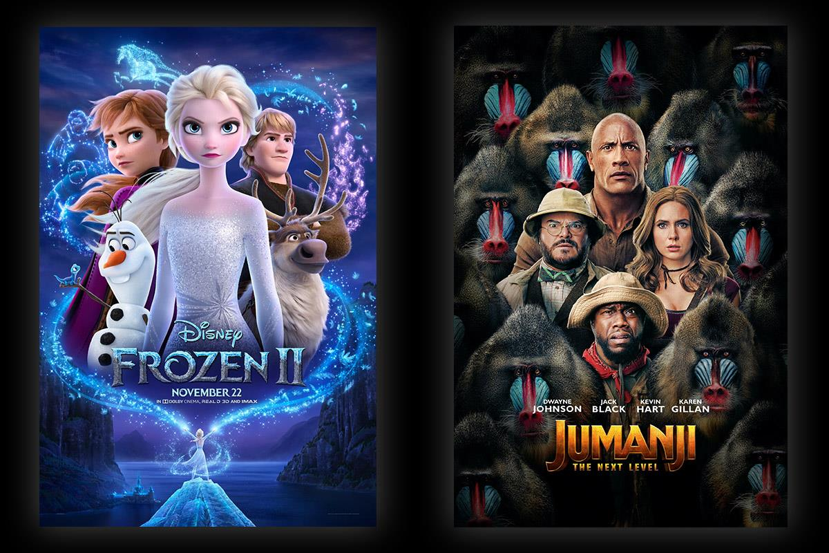 Box Office: Frozen 2 Is a Billion-Dollar Movie, Jumanji: The Next Level Racks Up $213 Million