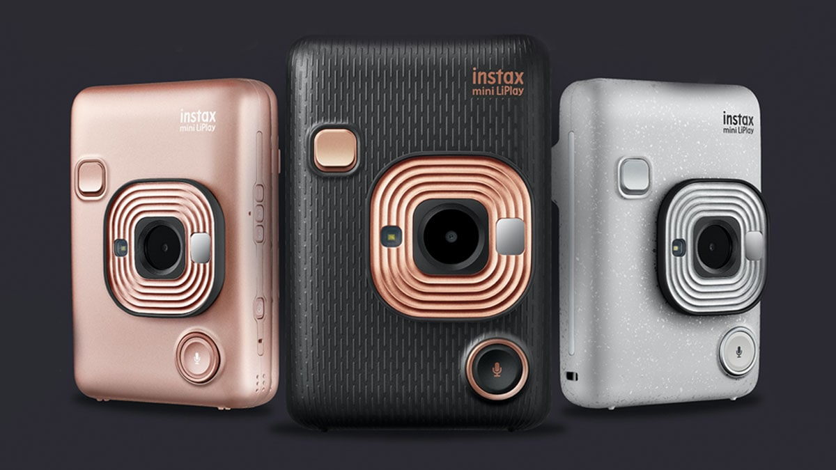 Fujifilm Instax Mini LiPlay Hybrid Instant Camera Launched in India at Rs. 13,799