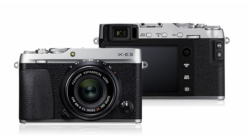 Fujifilm X-E3 Mirrorless Camera With 4K Video Support Launched in India: Price, Specifications
