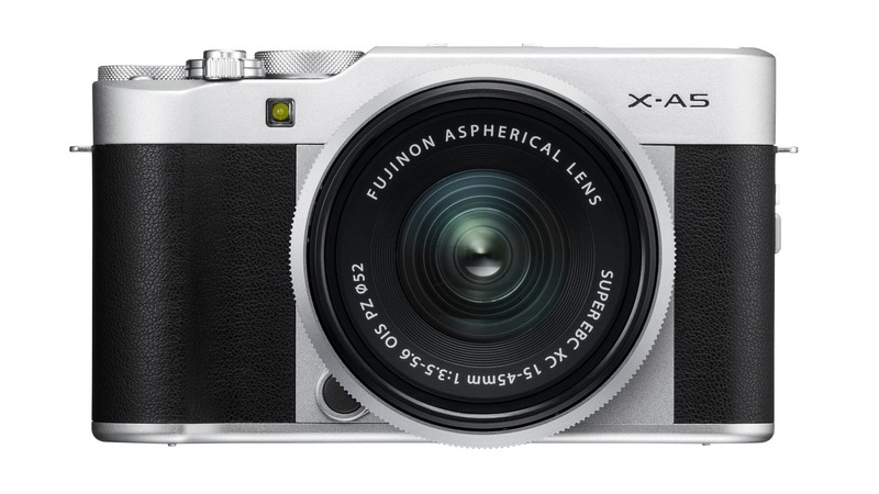 Fujifilm X-A5 Mirrorless Camera With X-Series Zoom Lens Launched in India at Rs. 49,999